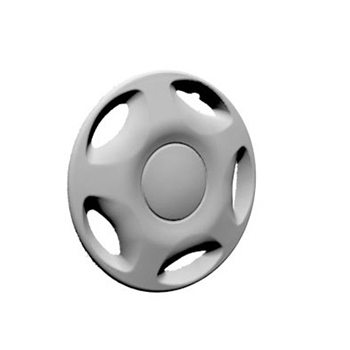 3D metal otomobil parçası