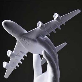 3 boyutlu kağıt uçak modeli