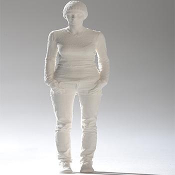3 boyutlu kağıt insan figürleri