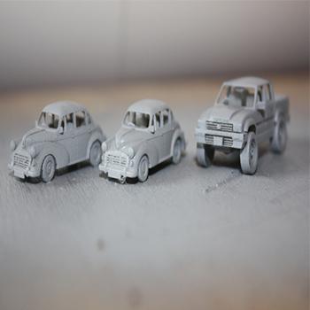 hızlı prototipleme araba modelleri