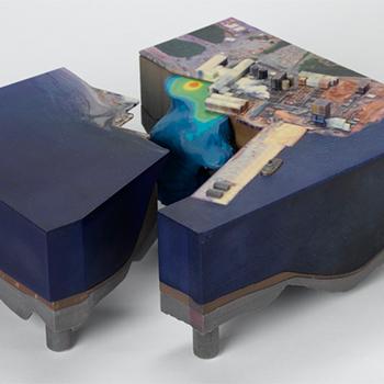 3D printer renkli maketler