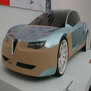 3D prototip otomobil