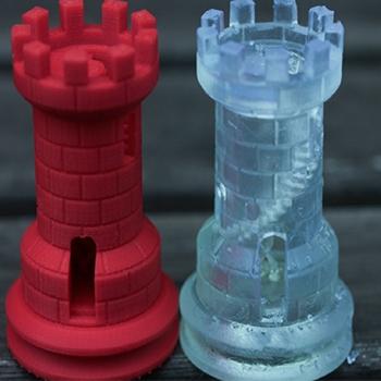 3D prototip santraç modeli