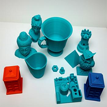 3D printer renkli modeller