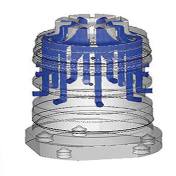 3 boyutlu metal sinterleme modeli