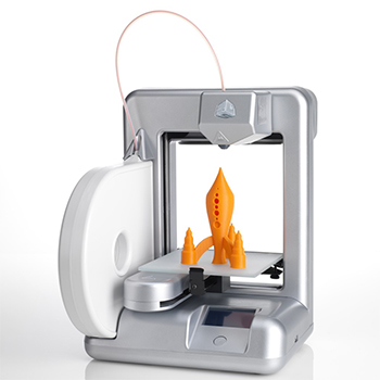 Cube 3D printer ile renkli modeller